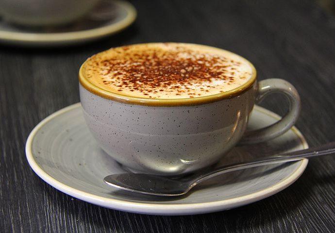 Coconut maca latte