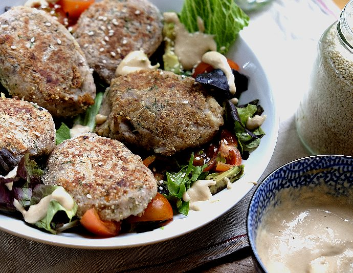Potato, walnuts cutlets