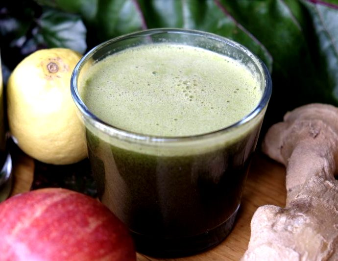 Anti-inflammatory green juice