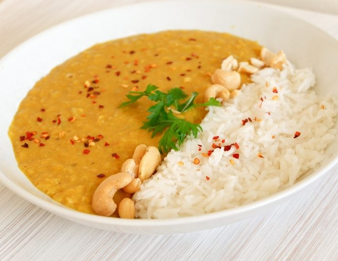 SIMPLE LENTIL CURRY